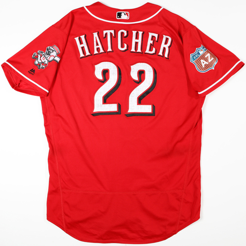 Photo of 2016 Spring Training - Spring Training Game Used Jersey - Billy Hatcher (Reds)- Size- 48