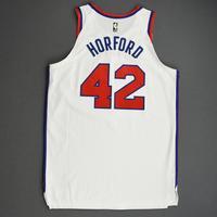 Al Horford - Philadelphia 76ers - Game-Worn Classic Edition 1970-71 Home Jersey - 2019-20 Season