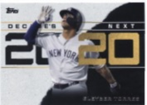 Photo of 2020 Topps Decade's Next #DN6 Gleyber Torres