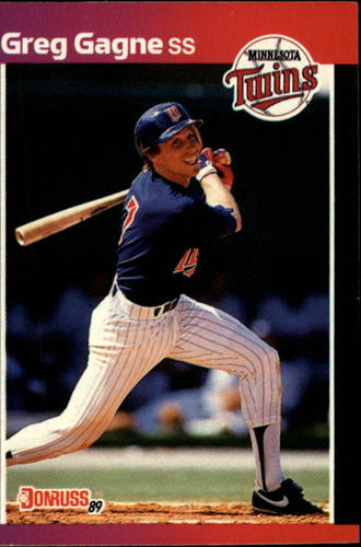 Photo of 1989 Donruss #318 Greg Gagne
