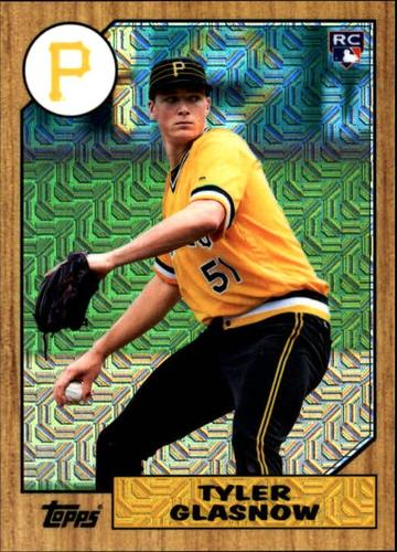 Photo of 2017 Topps '87 Topps Silver Pack Chrome #87TG Tyler Glasnow
