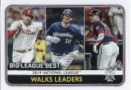 Photo of 2020 Topps Big League #246 Yasmani Grandal/Juan Soto/Rhys Hoskins LL
