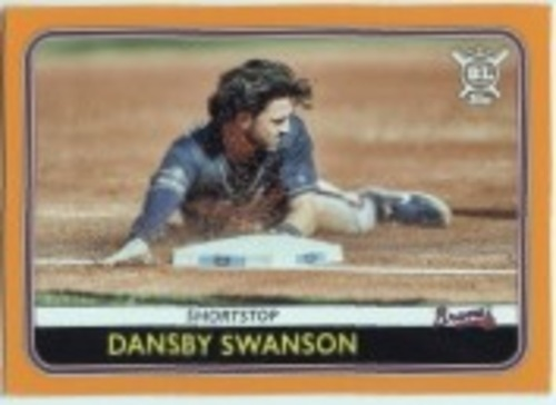 Photo of 2020 Topps Big League Orange #129 Dansby Swanson