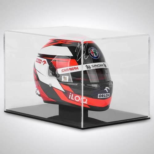 Photo of Kimi Raikkonen 2020 Signed 1:2 Scale Helmet