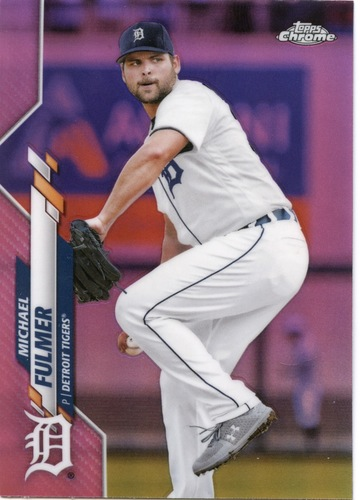 Photo of 2020 Topps Chrome Pink Refractors #18 Michael Fulmer