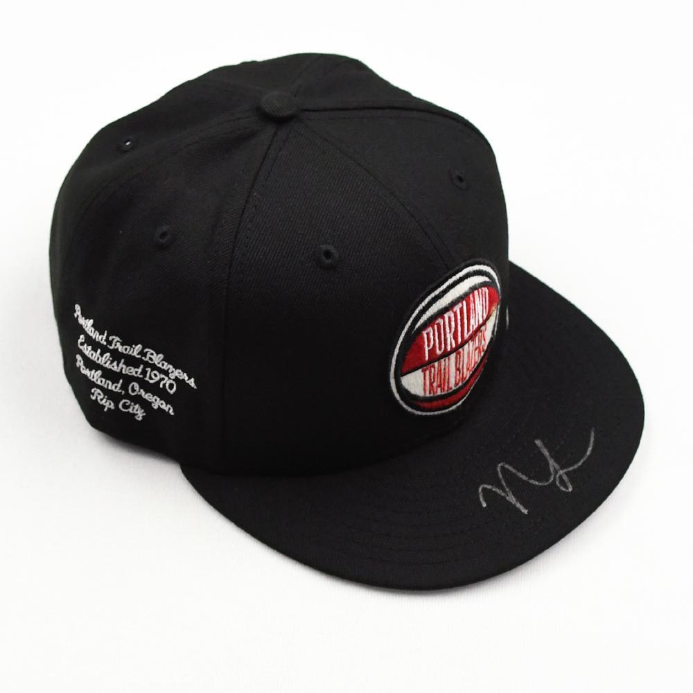 Nassir Little - Portland Trail Blazers - 2019 NBA Draft Class - Autographed Hat
