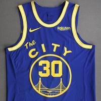 Stephen Curry - Golden State Warriors - Game-Worn Classic Edition - 1966-67 Home Jersey - 2020-21 NBA Season
