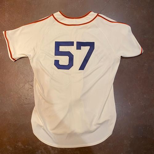 Photo of 2021 Game Used San Francisco Sea Lions Negro League Throwback Uniform - #57 Alex Wood - Size 48