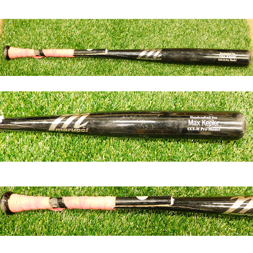 Photo of Minnesota Twins: 2021 Game-Used Broken Bat - Max Kepler Model Bat used by Andrelton Simmons for 3rd Homerun of the Season on 6/27/2017