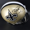NFL - Saints Drew Brees Signed Proline Helmet