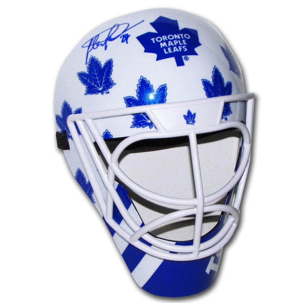Felix Potvin Autographed Toronto Maple Leafs Fan Mask