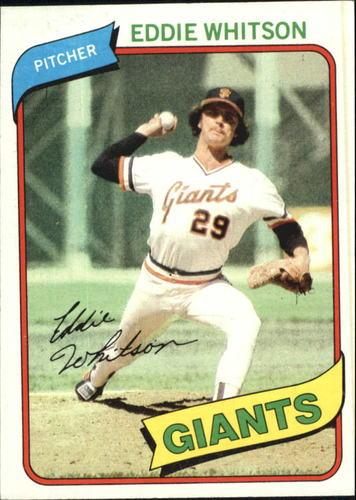 Photo of 1980 Topps #561 Eddie Whitson