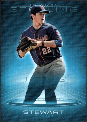 Photo of 2013 Bowman Sterling Prospects Blue Refractors #36 Kohl Stewart
