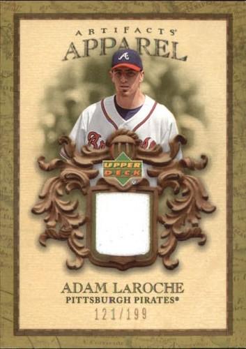 Photo of 2007 Artifacts MLB Apparel #AL Adam LaRoche