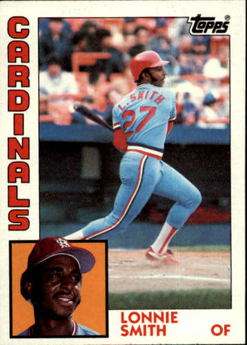 Photo of 1984 Topps #580 Lonnie Smith