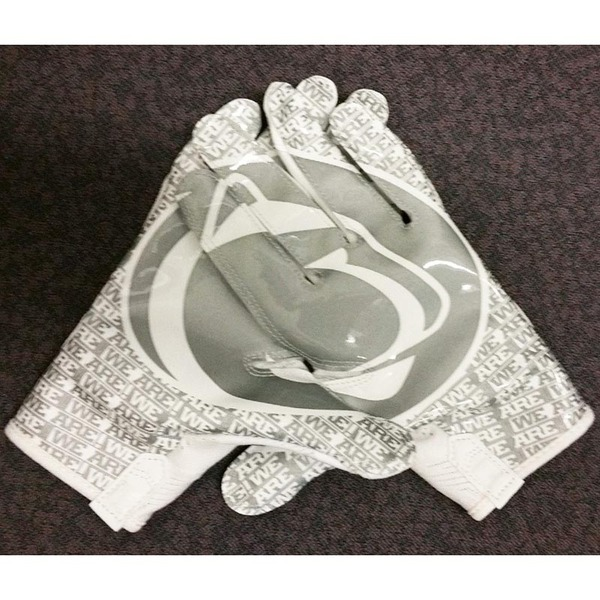 Photo of Exclusive Penn State Football WHITE OUT Wide Receiver Gloves