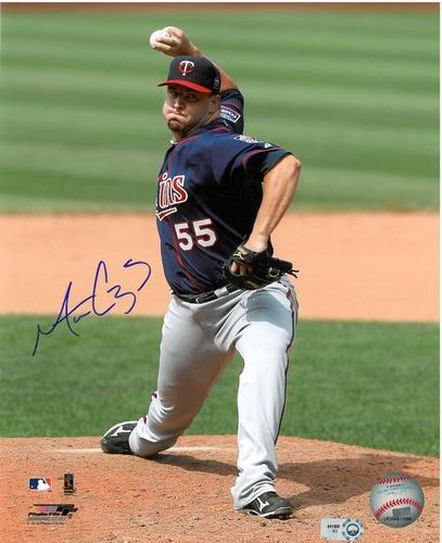 Photo of Matt Capps Autographed 8x10