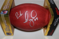 BILLS - RICHIE INCOGNITO SIGNED AUTHENTIC FOOTBALL