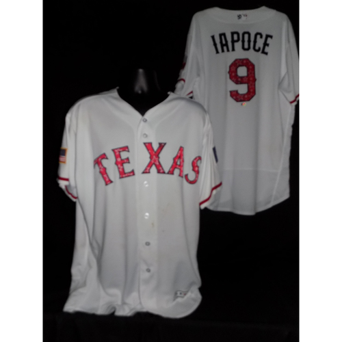 Anthony Iapoce 2017 Game-Used Stars and Stripes Jersey