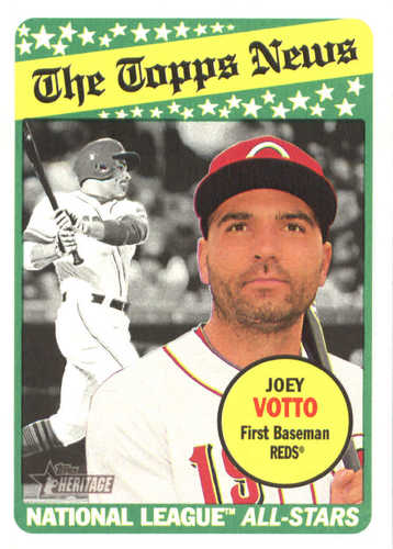 Photo of 2018 Topps Heritage #187 Joey Votto