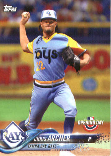 Photo of 2018 Topps Opening Day #99 Chris Archer