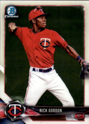 Photo of 2018 Bowman Chrome Prospects #BCP49 Nick Gordon
