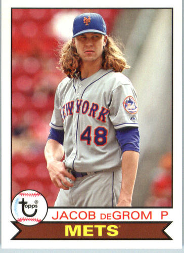 Photo of 2016 Topps Archives #164 Jacob deGrom