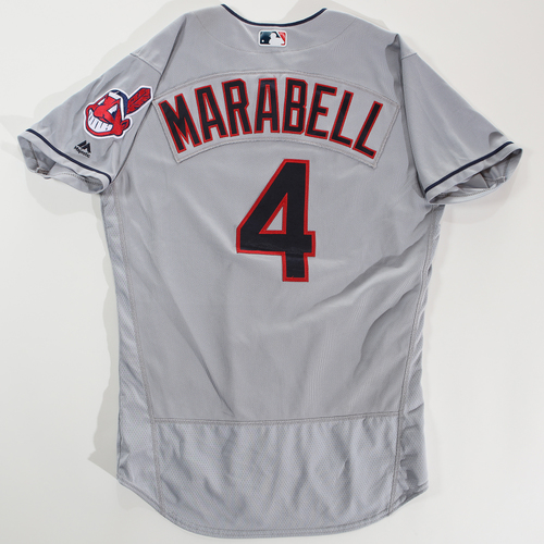Photo of 2018 Arizona Fall League Game-Used Jersey - Connor Marabell -Size 44