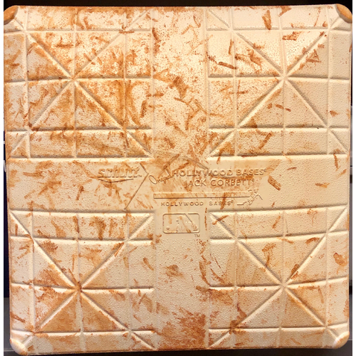 Photo of 2017 Spring Training Game Used Base- 2nd Base (Innings 1 - 3) - Twins vs. Rays - 3/17/17
