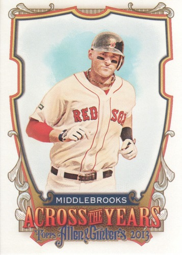 Photo of 2013 Topps Allen and Ginter Across the Years #WM Will Middlebrooks
