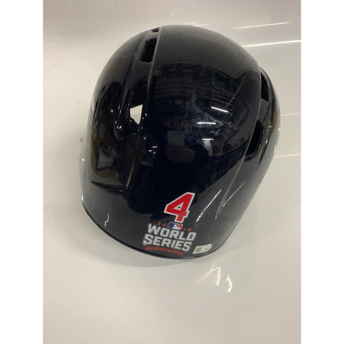 Photo of Coco Crisp Game Used Batting Helmet - 2016 World Series Game 7