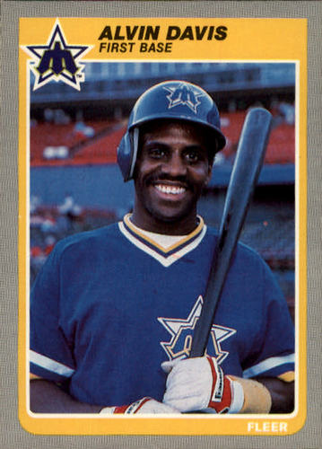 Photo of 1985 Fleer #488 Alvin Davis RC