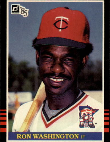 Photo of 1985 Donruss #391 Ron Washington