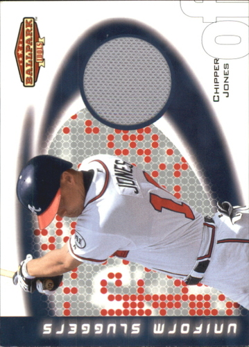 Photo of 2002 Upper Deck Ballpark Idols Uniform Sluggers Jerseys #CJ Chipper Jones