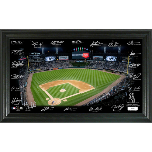 Photo of Chicago Cubs 2020 Signature Field Limited Edition Frame