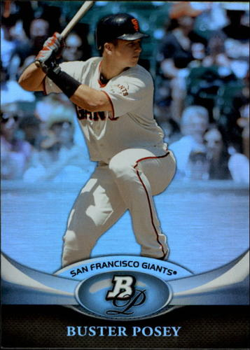 Photo of 2011 Bowman Platinum #28 Buster Posey