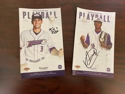 Photo of Kyle Kubat & Luis Basabe Signed Playballs
