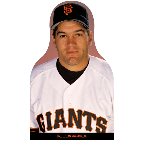 Photo of Giants Community Fund: Giants Kirt Manwaring Cutout