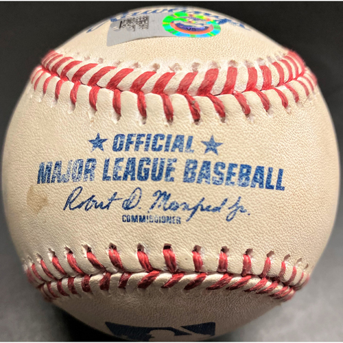 Photo of Game-Used Baseball: Willi Castro Detroit Tigers RBI Single to drive in Miguel Cabrera (MLB AUTHENTICATED)