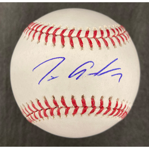 Photo of Tim Anderson Autographed Baseball