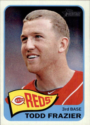 Photo of 2014 Topps Heritage #152 Todd Frazier