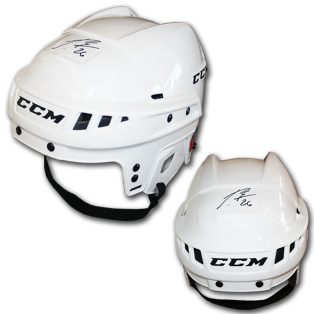 Patrik Elias (New Jersey Devils) Autographed CCM Hockey Helmet