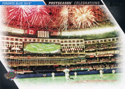 Photo of 2017 Topps Update Postseason Celebration #PC1 Toronto Blue Jays