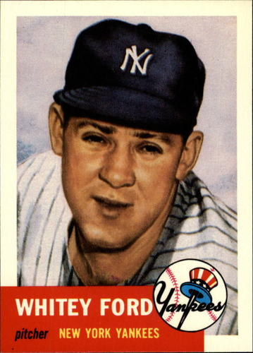Photo of 1991 Topps Archives 1953 #207 Whitey Ford