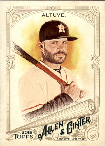 Photo of 2018 Topps Allen and Ginter #10 Jose Altuve