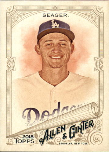 Photo of 2018 Topps Allen and Ginter #174 Corey Seager