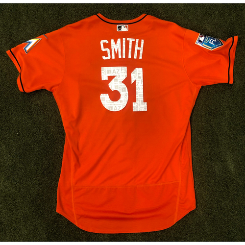 Photo of Game Used: Caleb Smith 2018 Spring Training  Caleb Smith - Size 48