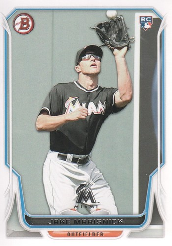Photo of 2014 Bowman #87 Jake Marisnick RC
