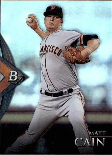 Photo of 2014 Bowman Platinum #60 Matt Cain