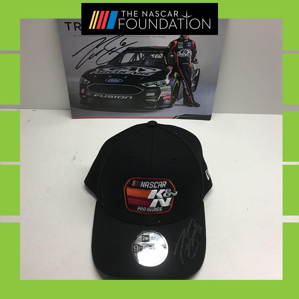NASCAR's Trevor Bayne Autographed Hat!